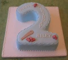 Cake for 2nd Birthday