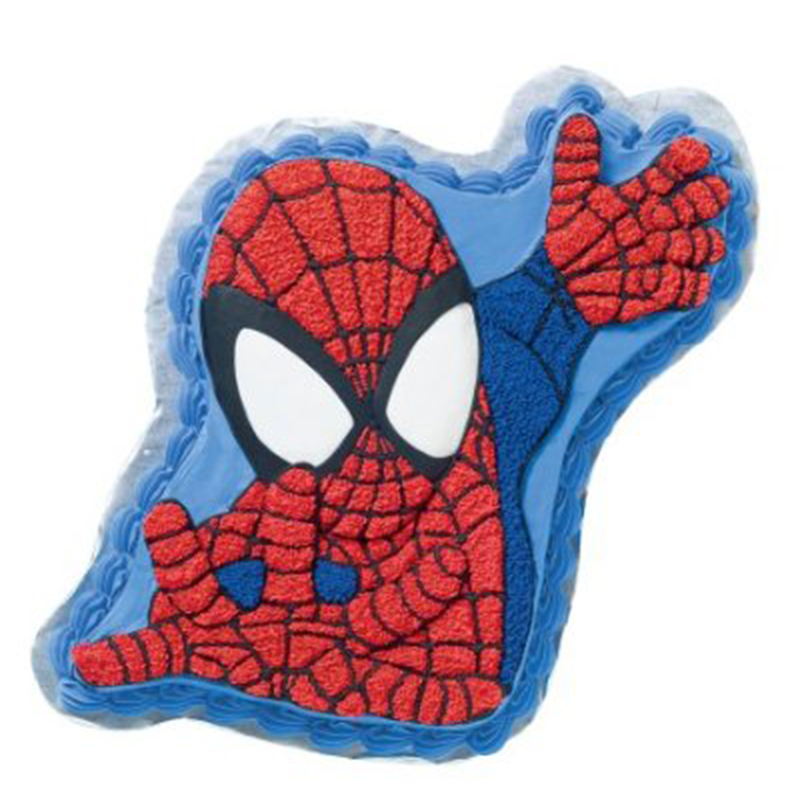 Spiderman Face Cake 1.85kg