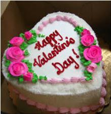 Happy Valentine Cake