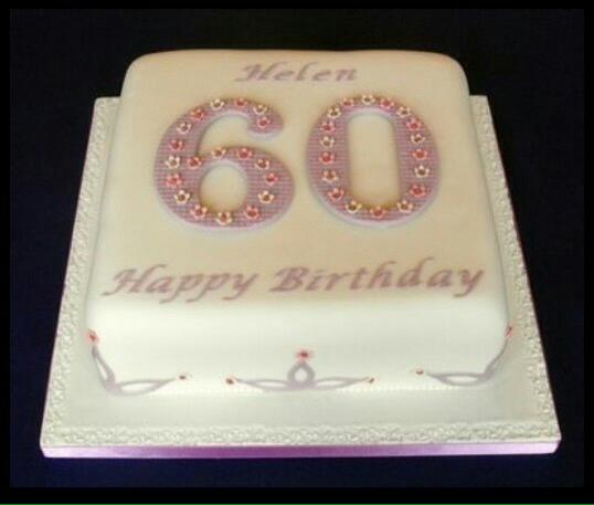 60 Year Cake Lakwimana