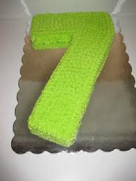 Cake for 7th Birthday