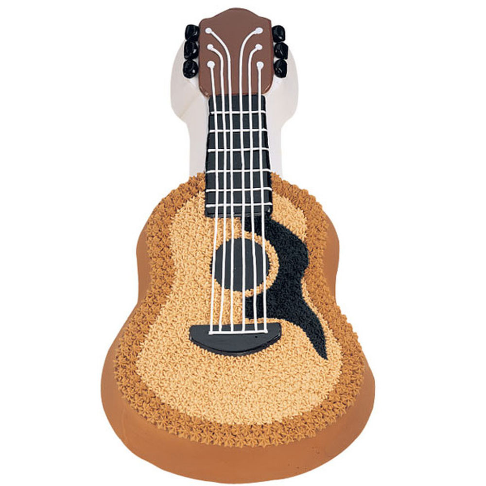 Guitar Cake Images With Name : Acoustic Guitar Cake 1.85kg, Lakwimana