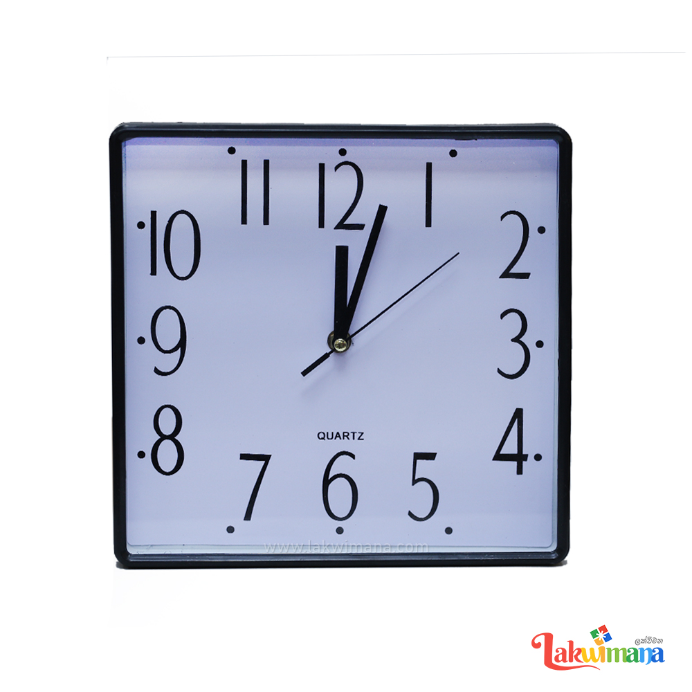 Simple Square Wall Clock