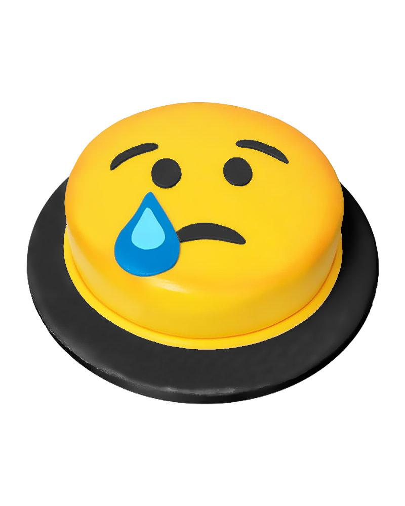 Crying Emoji Cake