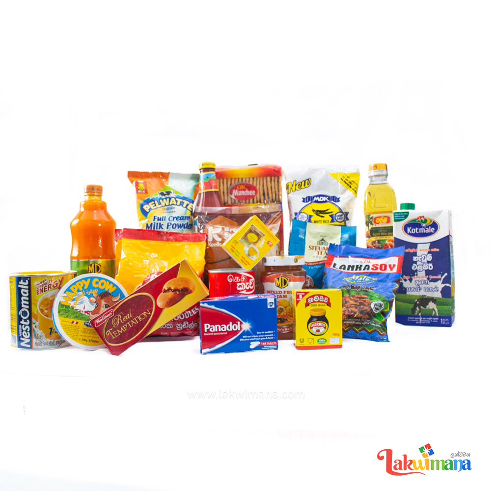 Daily Essentials Grocery Hamper