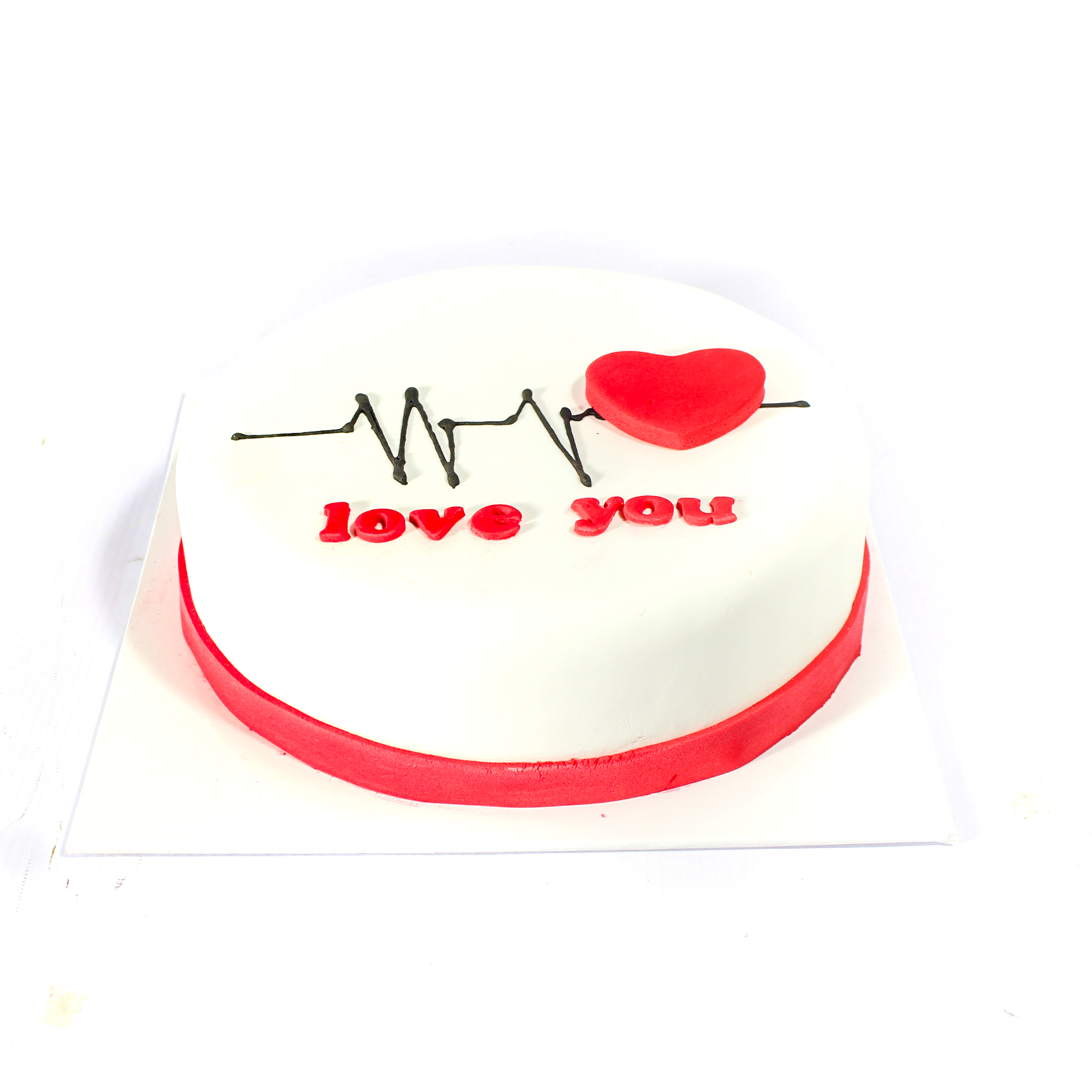 Every Heartbeat For You Cake