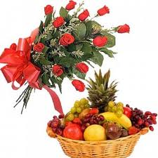 Fruit With Roses