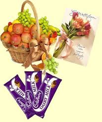 Fruits with Chocolates