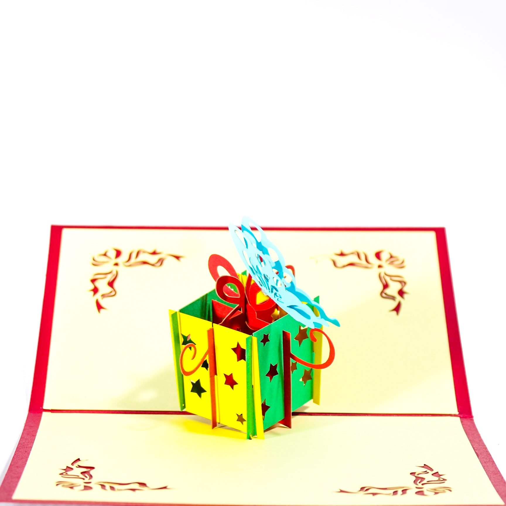 Gift Box 3D Popup Card