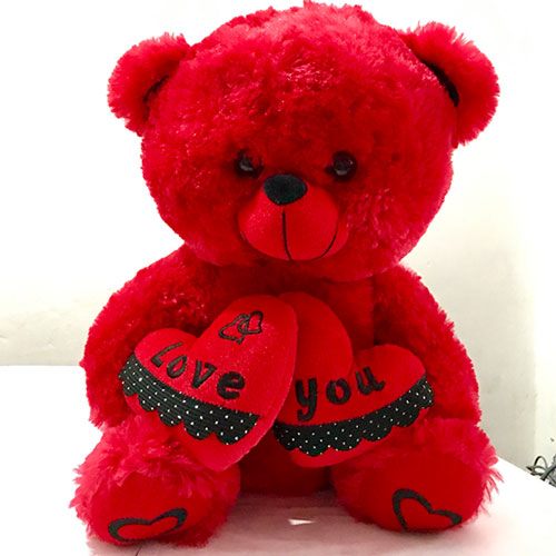 Send red teddy bear with love you heart to to loved ones in sri send red teddy bear with love you heart to to loved ones in sri lanka lakwimana altavistaventures Images