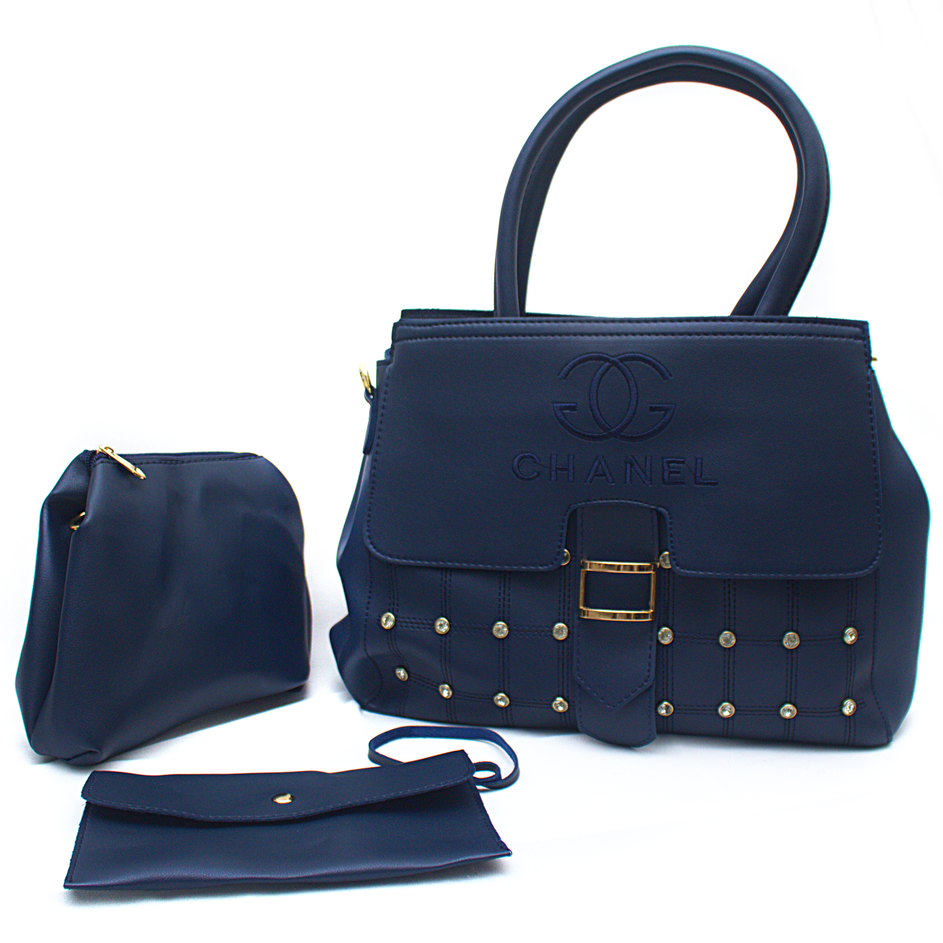 Ladies Hand Bag 1083 -3 in one