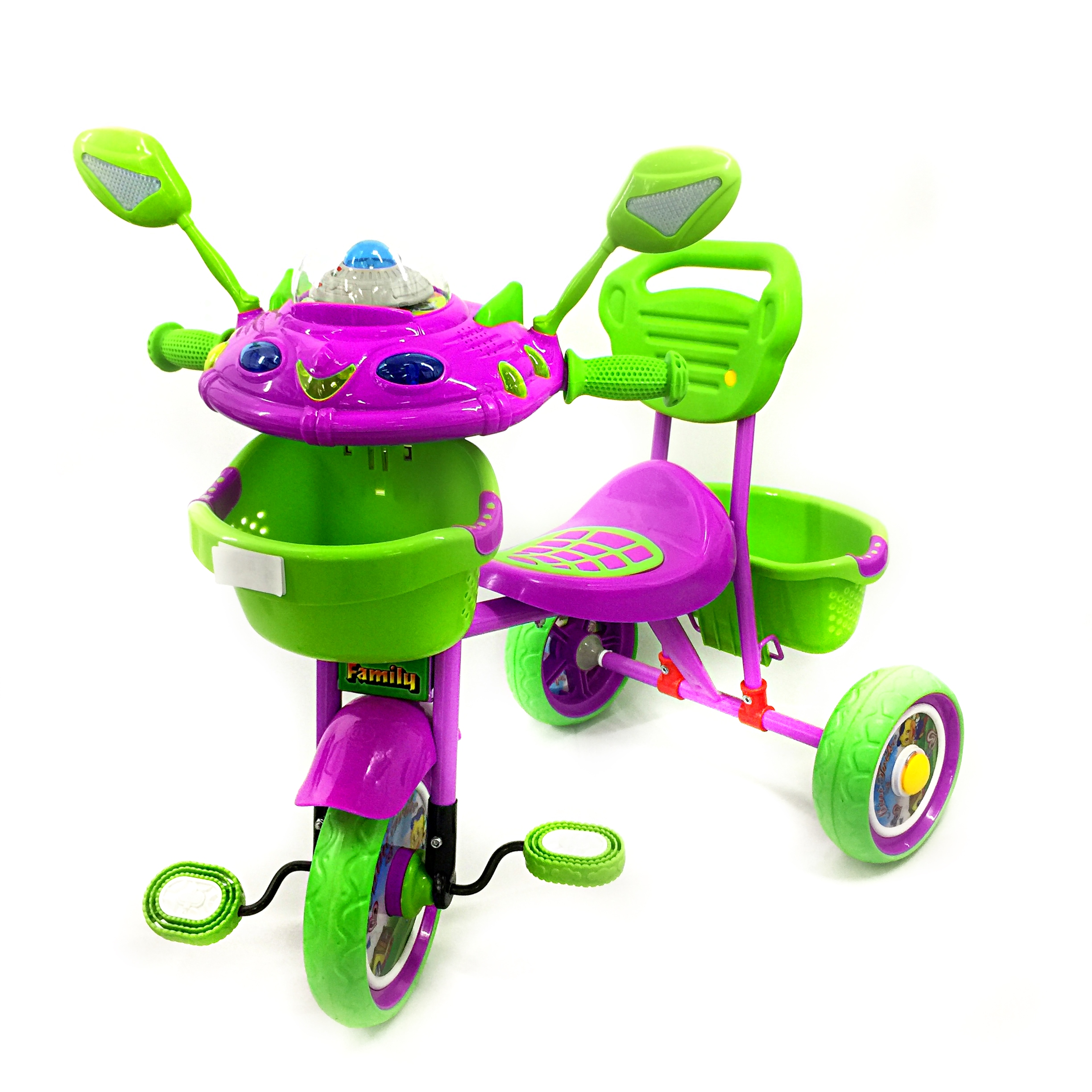 Green Alien Tricycle