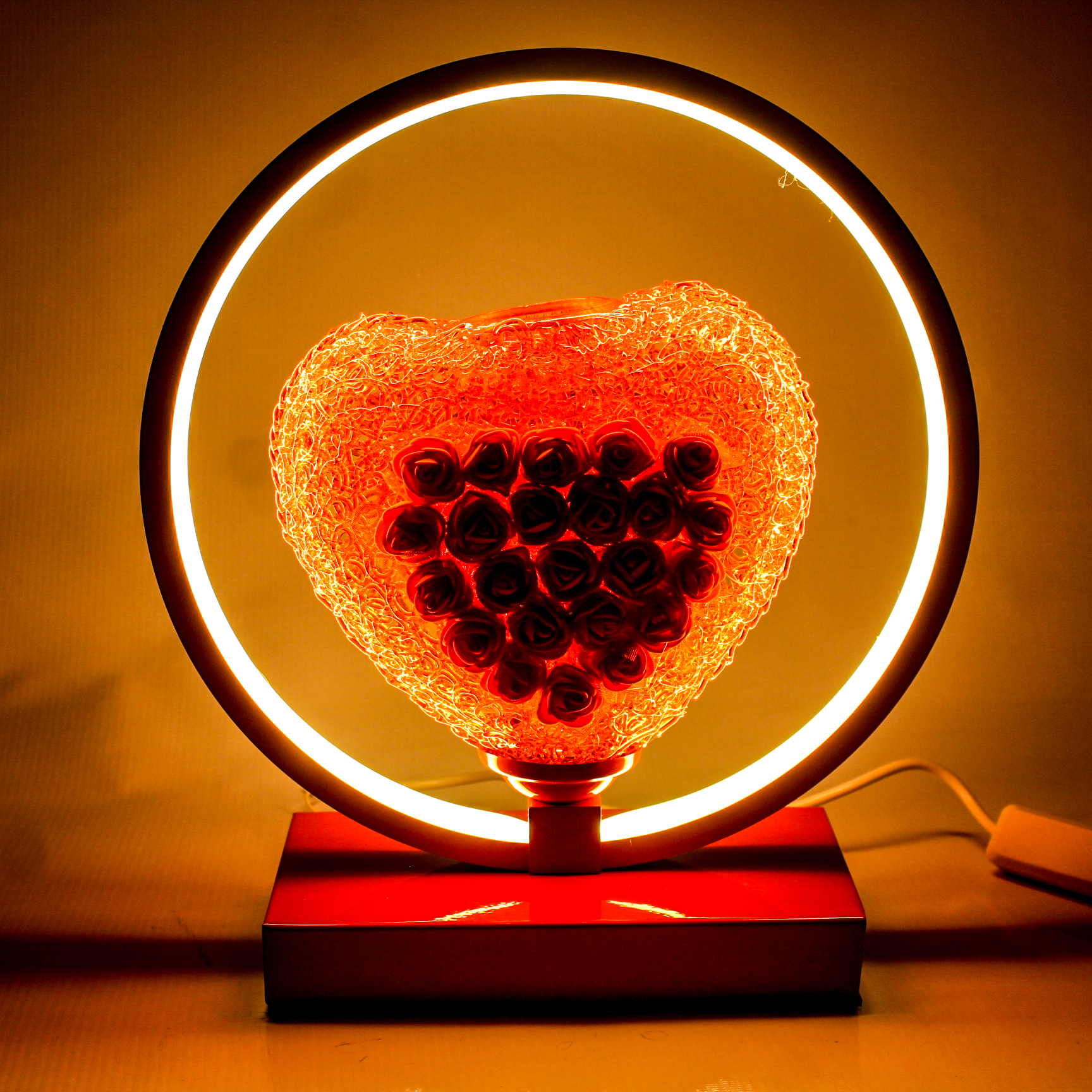 Light Up My Heart Table Lamp