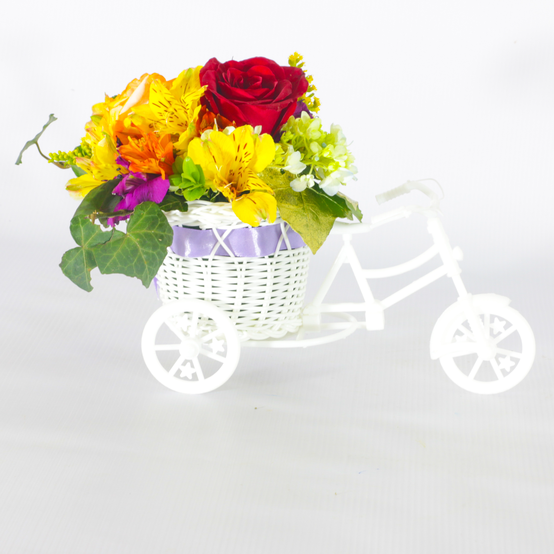 Lovely Flower Bicycle