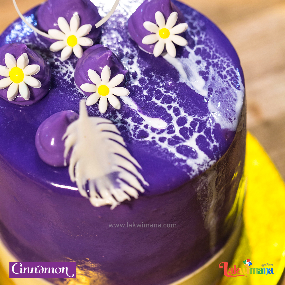Mini White Chocolate Bluberry Velvet Cake -500g