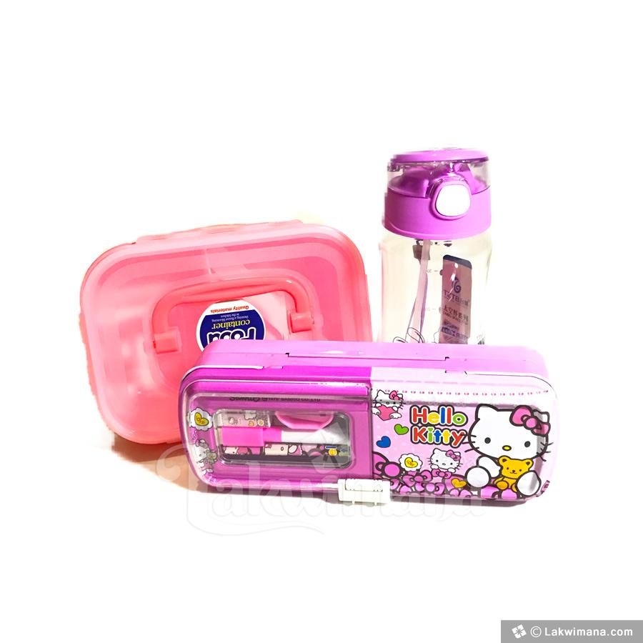 Buy Online Pink Mini School Kit For Girl In Sri Lanka Lakwimana