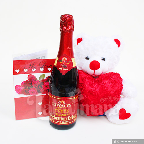 Buy Online Red Love Valentine Gift Package In Sri Lanka Lakwimana