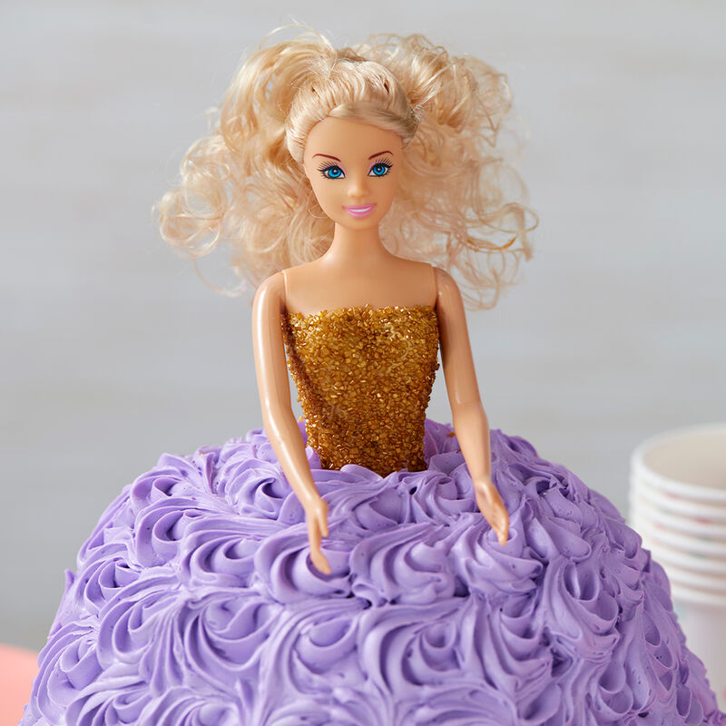 She's a Lavender Doll Cake