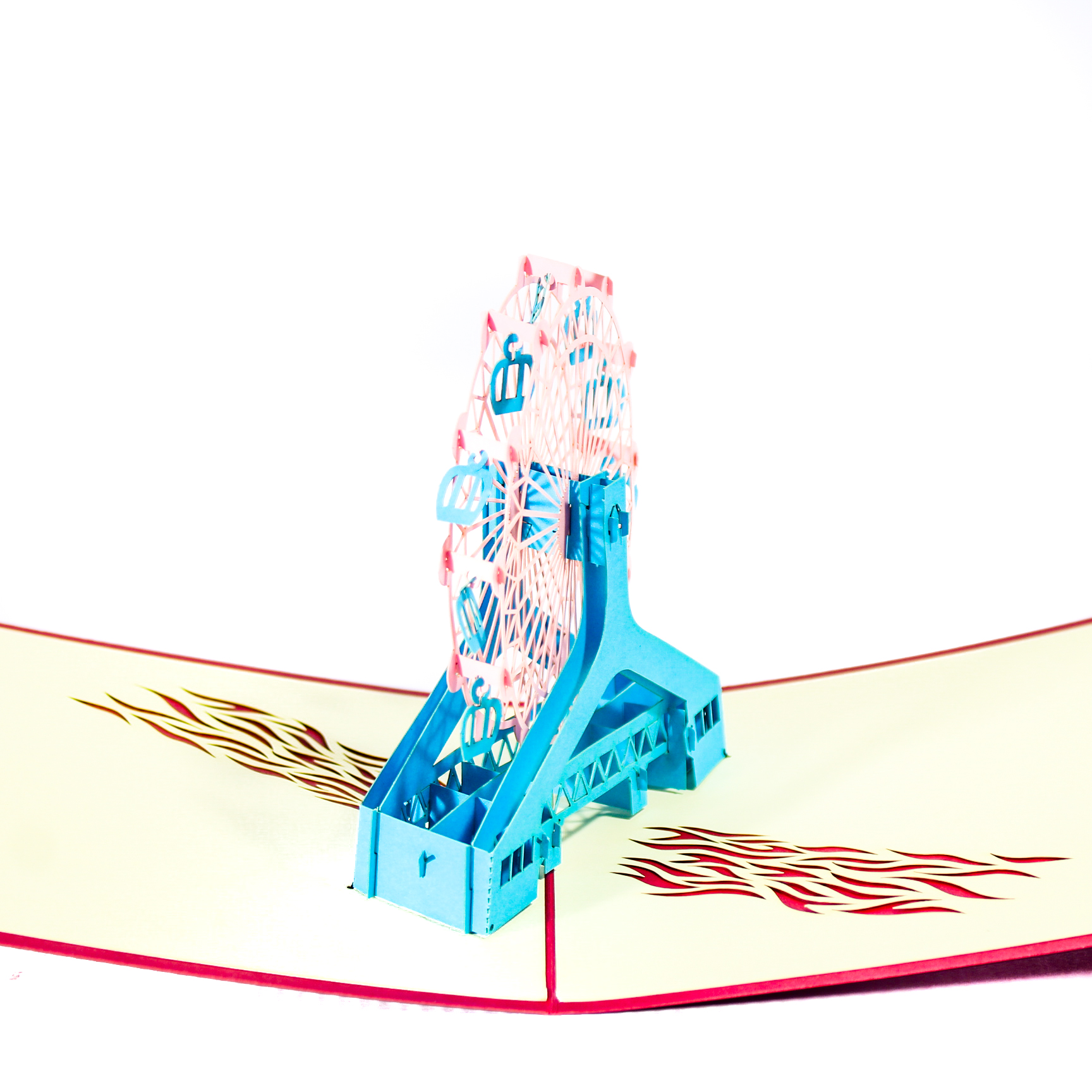 Sky Wheel 3D Popup Card
