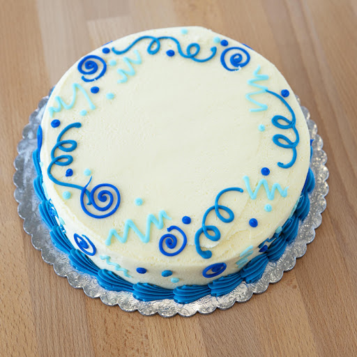 Swirls & Zigzags Cake