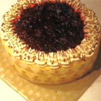 Cheese Cake with Wild Berries