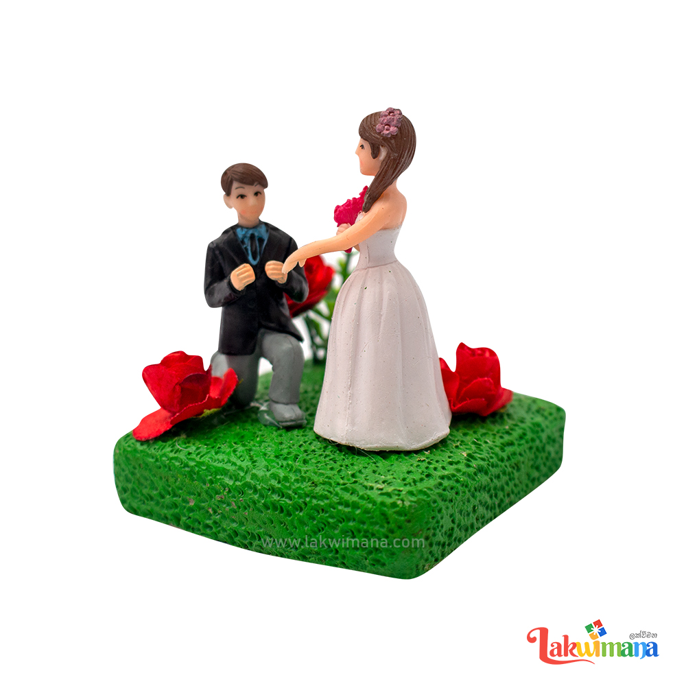 Wedding Couples Figurines Fairy Garden Ornament