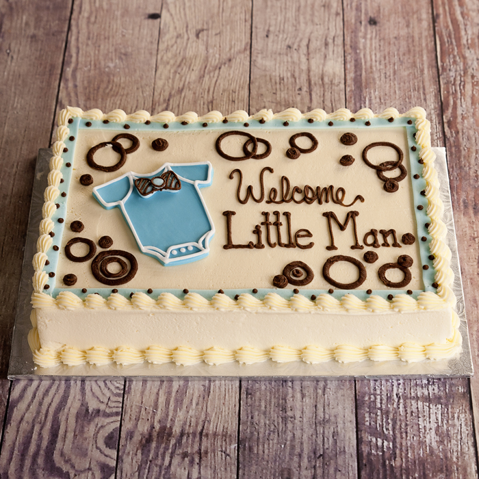Welcome Little Man Cake