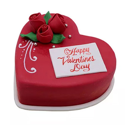 Heart Shaped Valentine Cake - 1.5kg