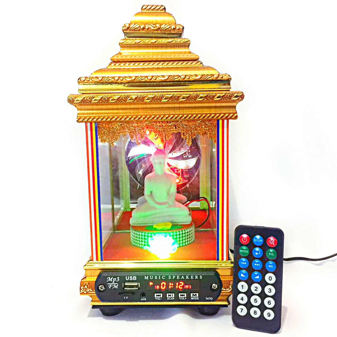 Pirith Budhu Kutiya with lights -11 inch