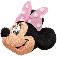 Pretty Minnie Mouse Cake 1.85kg