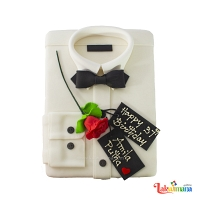 Customized Shirt Cake 2 Kg