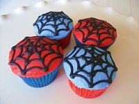Spider Cup Cake