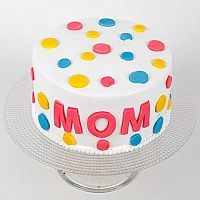 Colorful Mother's Day Cake