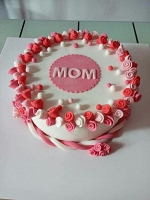 Love you Mother Cake -1.5 kg