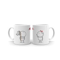 U MY LOVE Couple  Mug