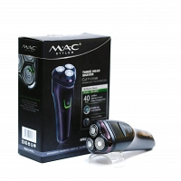 MAC RECHARGEABLE THREE HEAD SHAVER