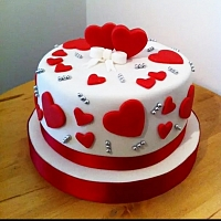 Smiles of Love Cake