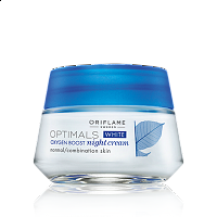 Optimals White Oxygen Boost Night Cream Normal/Combination Skin