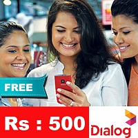 Dialog Reload Rs.500/= [FREE]