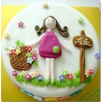 Little Girl Cake 1.5KG