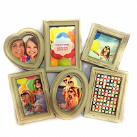 Vintage 6pcs photo Frame
