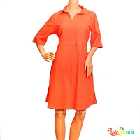 Ladies light Orange Dress
