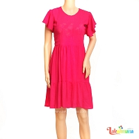 Ladies Dark Pink  Dress