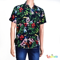 Men Casual Floral Shirt