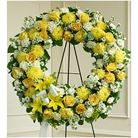 Yellow & White Sympathy