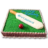 Cricket Pitch Cake 2kg