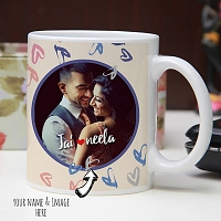 Couple Photo mug