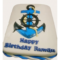 Anchor Design Cake