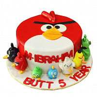 Best Angry Birds Birthday Cake 2kg
