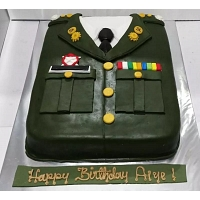 Army Soldier Birthday Cake  2kg